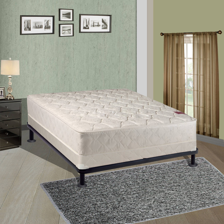 Continental Sleep Elegant Collection Mattress Set with Firm