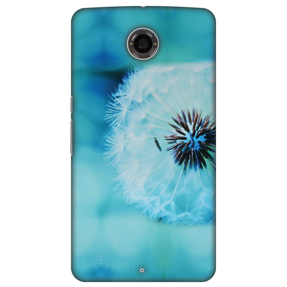 Motorola Nexus 6 XT1103 Case, Google Nexus 6 XT1103 Case - Dandelion Close By,Hard Plastic Back Cover, Slim Profile Cute Printed Designer Snap on Case with Screen Cleaning Kit