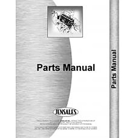 for caterpillar tractor #619 (89e1 +)industrial/construction parts manual (new)