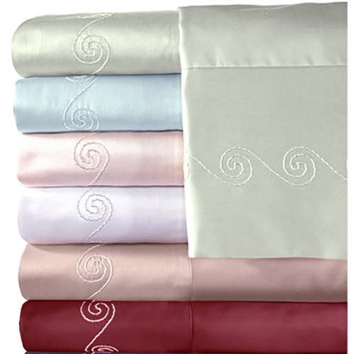 Veratex, Inc. Supreme Sateen 500-Thread Count Swirl Bedding Sheet Set