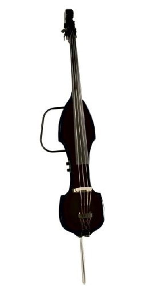 Palatino VE500 3 4 Electric Upright Bass, Black by PALATINO