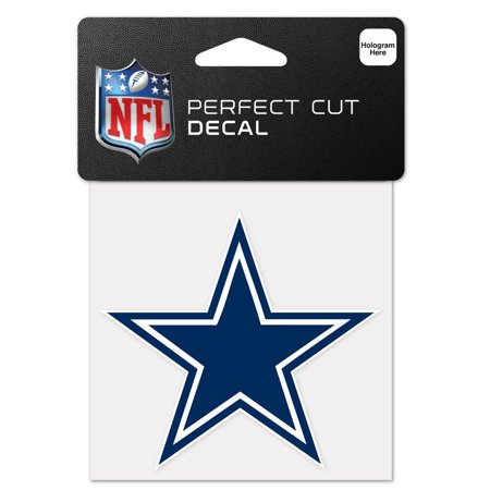 Dallas Cowboys Official NFL 4 inch x 4 inch  Die Cut Car Decal by Wincraft for $<!---->