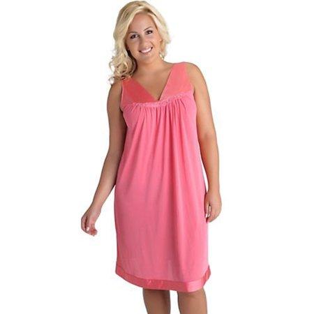1ee6d88ed4 Vanity Fair Women s Coloratura Sleepwear Short Gown 30107 - Walmart.com