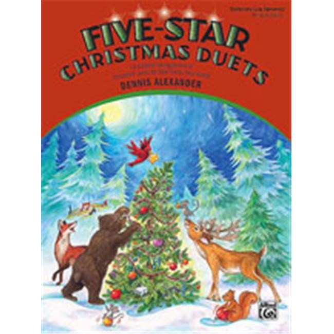 Alfred 00-23233 Five-Star Christmas Duets - Music Book
