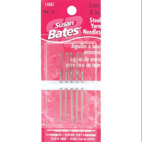 """Steel Yarn Needles Size 16-2"""" 5/Pkg"""