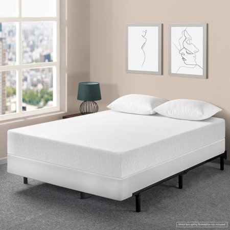 Best Price Mattress 10 Inch Air Flow Memory Foam Mattress and Innovative Steel Box Spring (Flow Air Box)