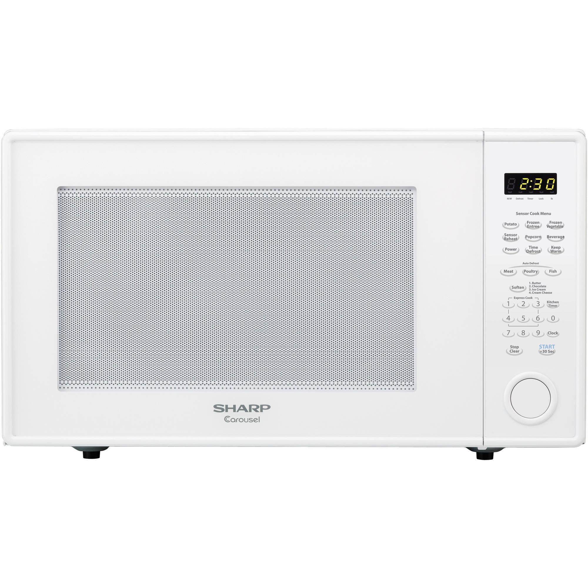 Sharp ZR659YW 2.2 Cu Ft Microwave, White