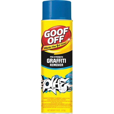 Goof Off Graffiti Remover Aerosol Spray, 18 Oz.