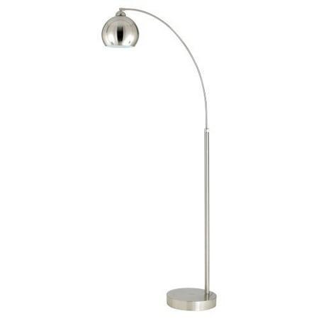 Cal lighting bo 2030 1l arc floor lamp with metal shade - Arc floor lamp shade ...