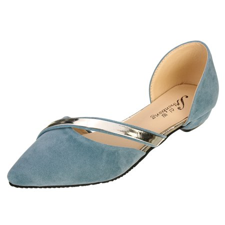 Women Ballet Flats Ballerina Pointed Toe Casual Slip On Loafers Ladies Flat Shoe with Pointed Toes