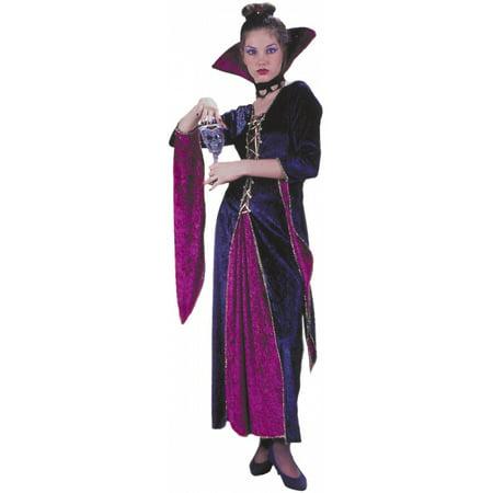 Victorian Vampiress Adult Costume - Medium/Large