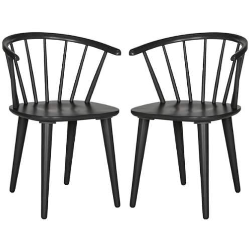 Safavieh AMH8512-SET2 Blanchard Side Chair (Set of 2)