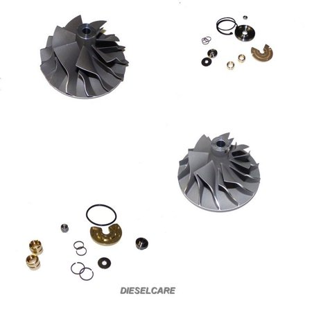- Diesel Care Ford Powerstroke 6.4 Low and High Pressure Turbo Service kits and Compressor Wheels 2008 2009 2010