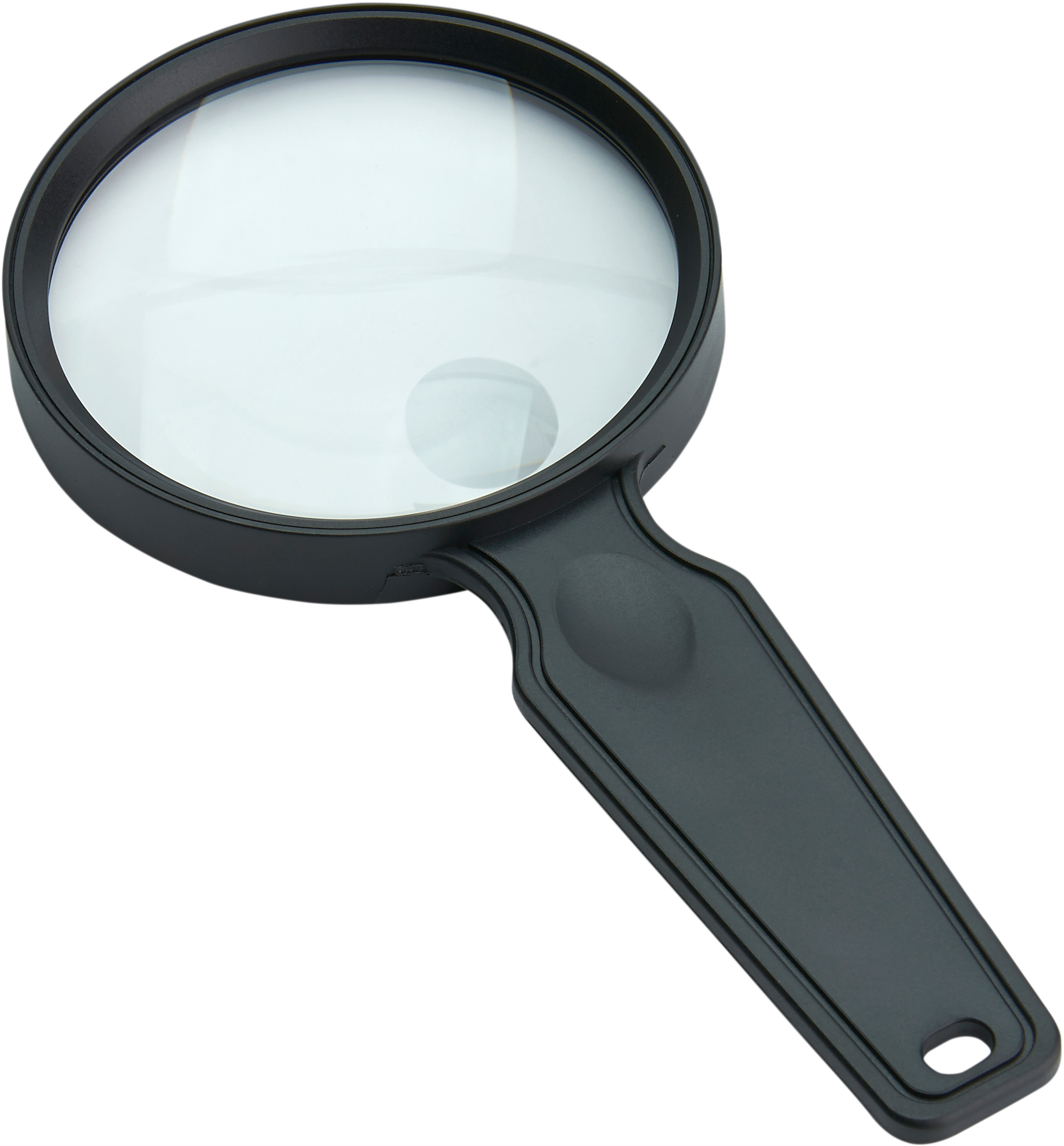 Carson MagniView 2x Power Compact and Lightweight Magnifying Glass Hand-Held Magnifier with 4.5x Spot Lens (DS-36)