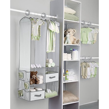 Walfront Baby Nursery Closet Organizer 24 Pcs Children Kids And Storage Shelving Units For