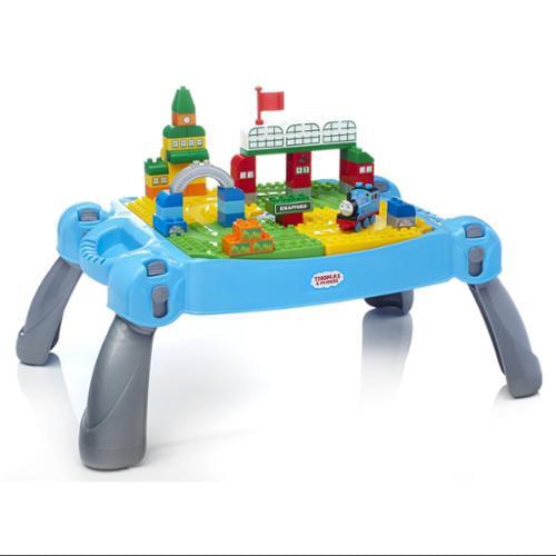 Mega Bloks Thomas & Friends Busy Day at Knapford Table Kids Building Set | CYM78