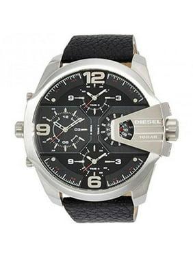Diesel Men's Uber Chief Leather Watch, DZ7376