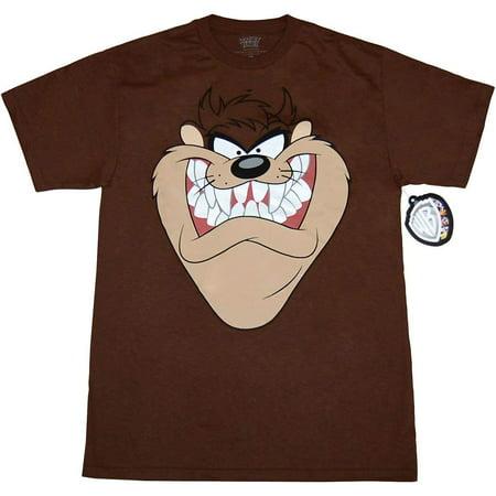 Looney Tunes Taz Face T-Shirt (Happy Halloween Looney Tunes)