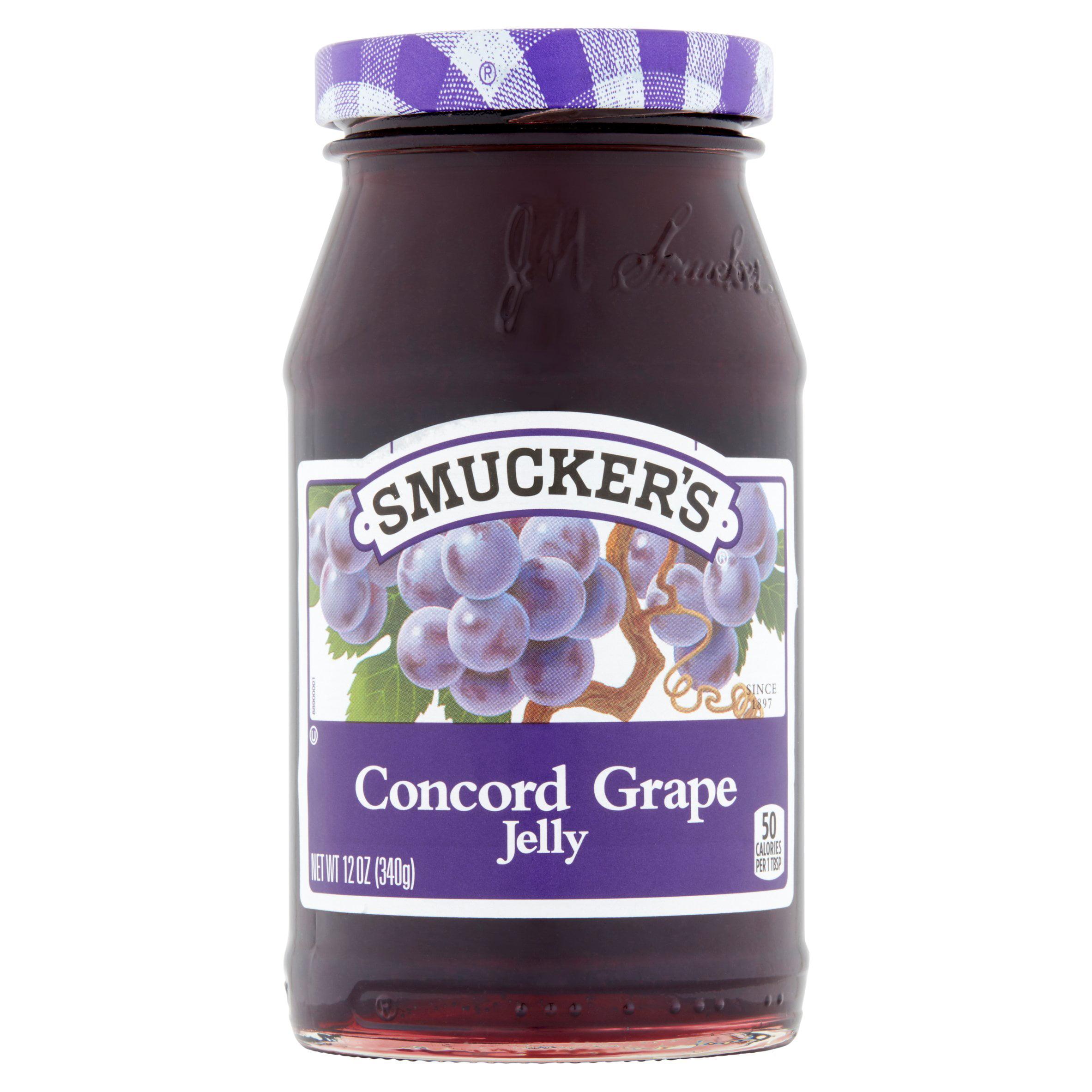 Smucker's Concord Grape Jelly, 12 oz