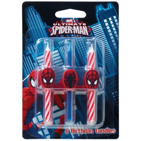 Ultimate Spider Man Birthday Candles