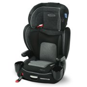 Graco TurboBooster Grow High Back Booster Car Seat, West Point Gray