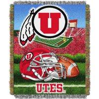 Utah Utes The Northwest Company 48'' x 60'' Home Advantage Woven Throw - No Size