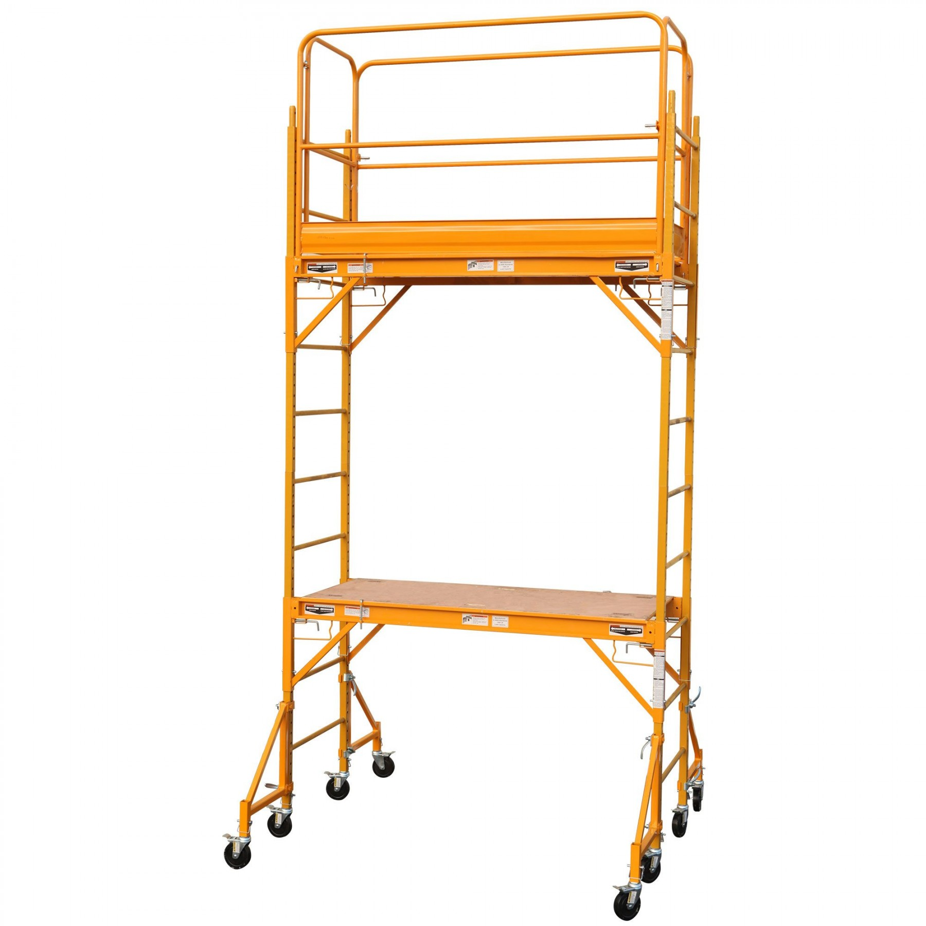 Rolling Scaffold Tower Baker Scaffold 2 sections by