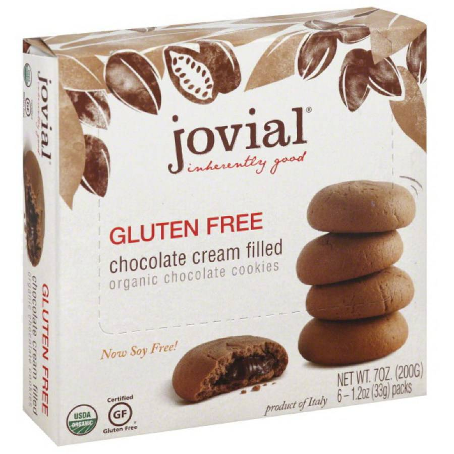 Jovial Chocolate Cream Filled Cookies, 7 oz, (Pack of 5)
