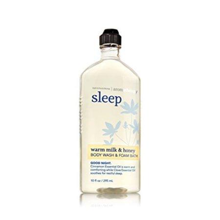 Bath & Body Works Aromatherapy Wash & Foam Bath Warm Milk & Honey -