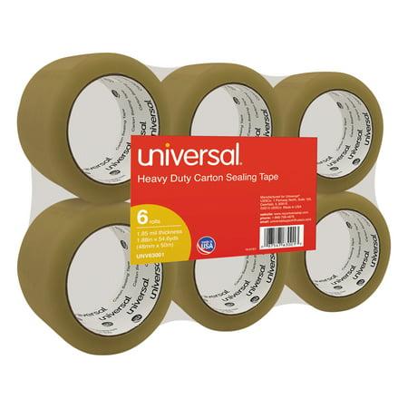 Universal General-Purpose Box Sealing Tape, 48mm x 54.8m, 3