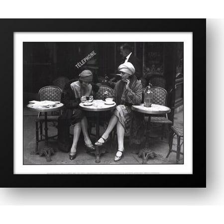 Cafe et Cigarette, Paris, 1925 16x14 Framed Art Print by Viollet, Roger