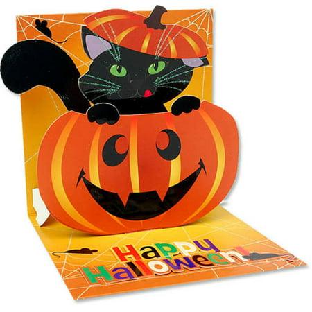 Up With Paper Pumpkin Cat Pop-Up Halloween Card - Halloween Pop Up Cards To Make