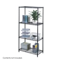 Safco 5285BL Wire Shelving Industrial Wire Shelving, 36 x 18 In