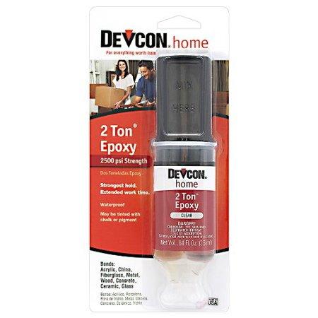 2 Ton Epoxy (Devcon 31345 2 Ton Clear Epoxy, 25)
