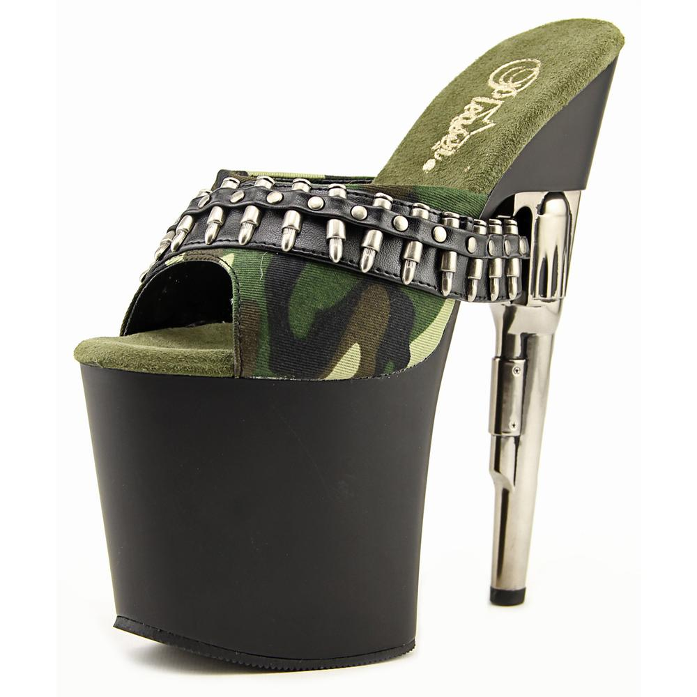 Pleaser Bondgirl-701-3   Open Toe Synthetic  Platform Heel