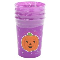 Way To Celebrate Halloween Jack O' Lantern Cups