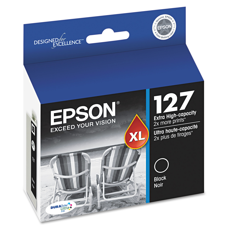 Epson 127 DURABrite Ultra Extra High-Yield Ink, Black by Epson