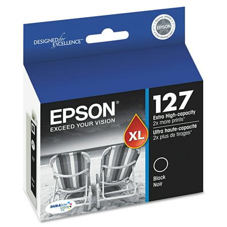 Epson 127 DURABrite Ultra Extra High-Yield Ink, Black