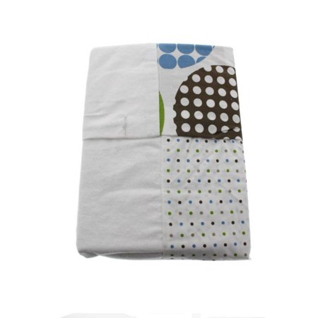Room 365 Dot Fun Baby Boy 2 Pack Changing Pad Cover Blue