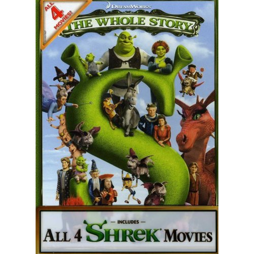 Shrek: The Whole Story Quadrilogy - Shrek / Shrek 2 / Shrek The Third / Shrek Forever After (Widescreen)