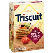 Nabisco Triscuit Fire Roasted Tomato & Olive Oil Crackers, 9 oz