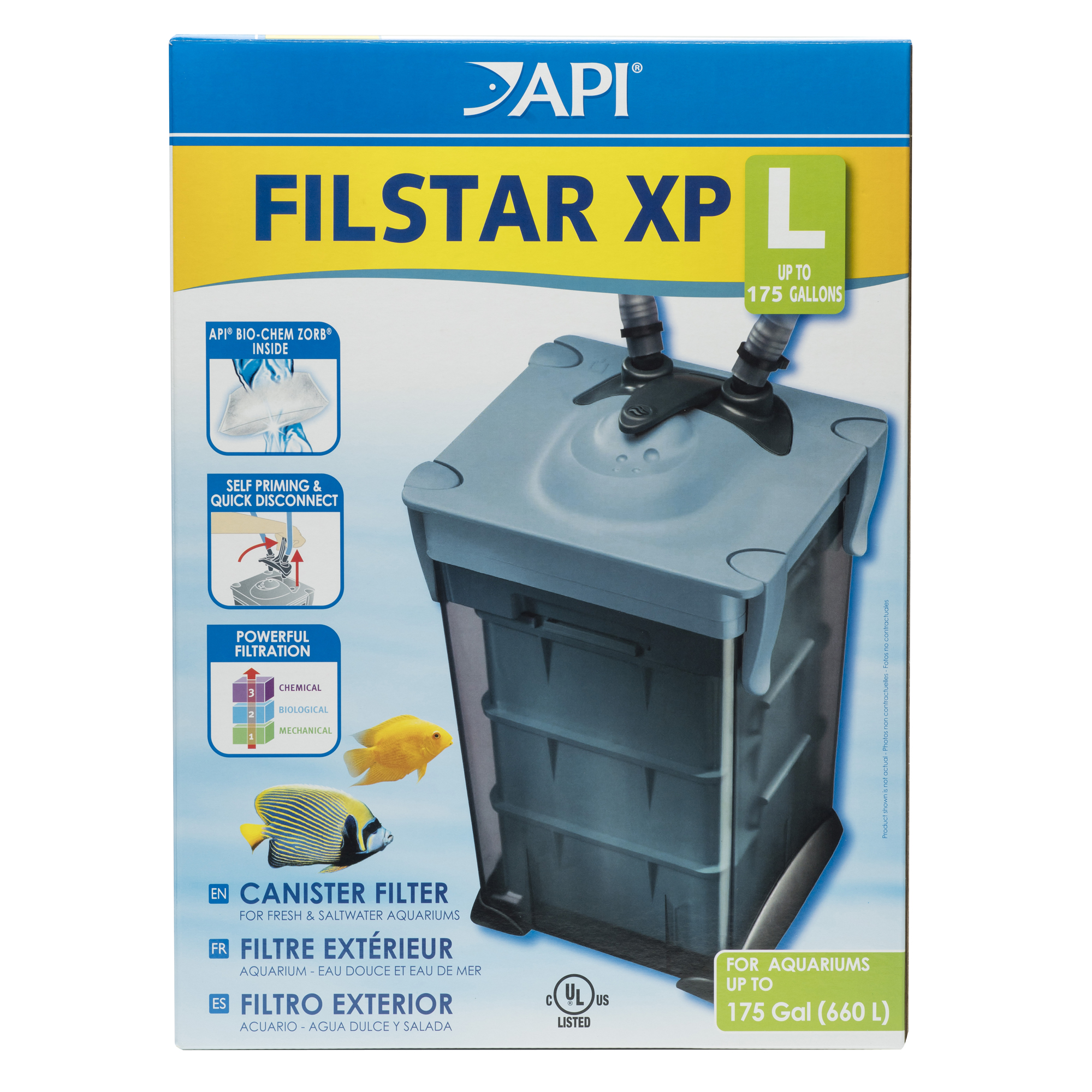 API Filstar XP Filter Size L, Aquarium Canister Filter, 1-Count