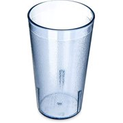 Squad Marketing 5212-8154 Stackable Shatter-Resistant Plastic Tumbler, New 12 Oz, Blue (Pack Of 6)