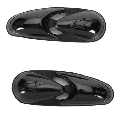 Alpinestars Toe Sliders for 2011-2012 SMX Plus Boots Black