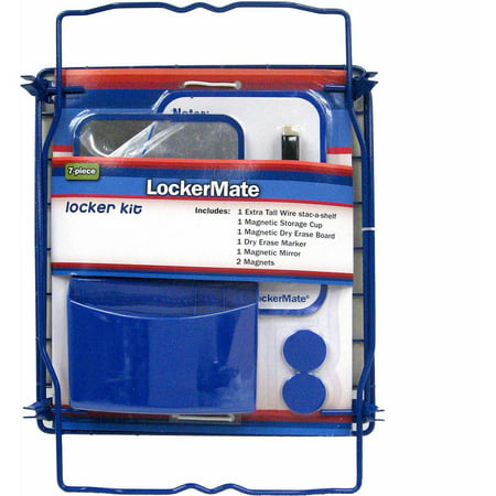 7 Piece Locker Kit Available In Multiple Colors Walmart Com
