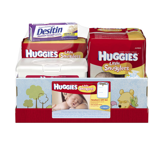 Huggies Baby Care Mixed Product Gift Box - Walmart.com