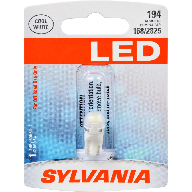 Sylvania 194 T10 W5W White LED Bulb by Sylvania