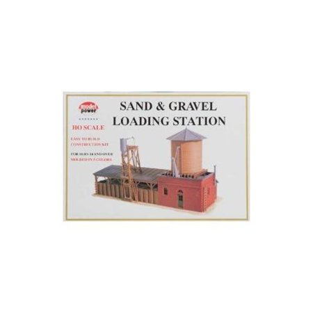 Model Power 617 HO Sand & Gravel Loading Station (Model Power Station)