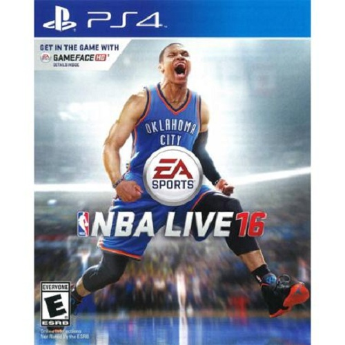 NBA Live 16, Electronic Arts, PlayStation 4, 014633735079