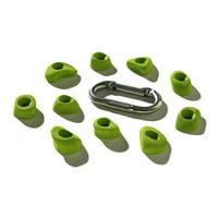 Nicros HHM Micros Set No.1 Handholds - Chartreuse